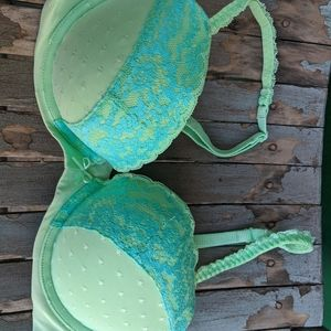 NWOT Lexi by Aerie Mint Green Bra Size 34C
